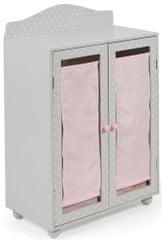 Bayer Chic Fából készült szekrény a babák számára