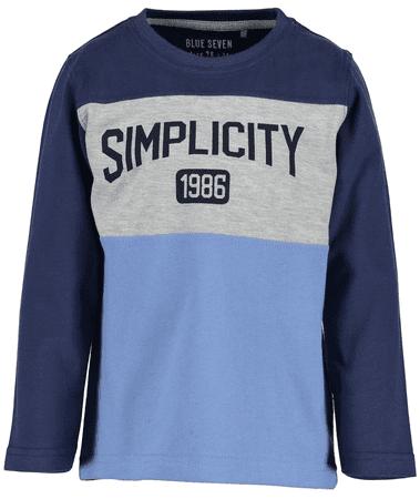 Blue Seven chlapecké tričko 92 modrá