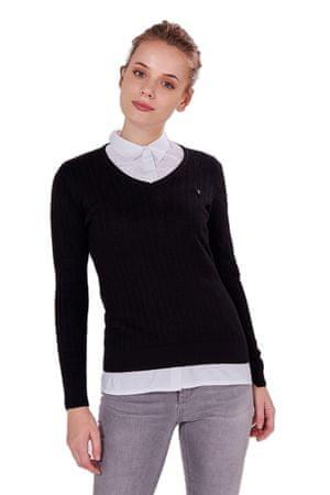 AUDEN CAVILL ženski pulover AC18F WKN2004, S, črn