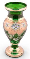 Bohemia Glass Bohemia Glass Váza Srdcovka - Zelená