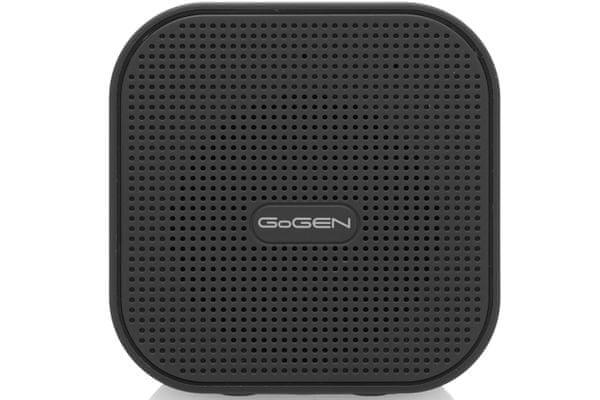 Bezprzewodowy głośnik Bluetooth Gogen Bs034 Wbudowany akumulator 800mAh Wytrzymałość 2,5h Pakiet MP3 Nfc 3W przewód USB