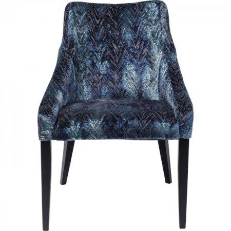 KARE Židle Black Mode Fancy - modrá