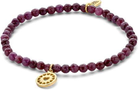 CO88 Lila jadeit karkötő szívecskés medállal 865-180-090157-0000