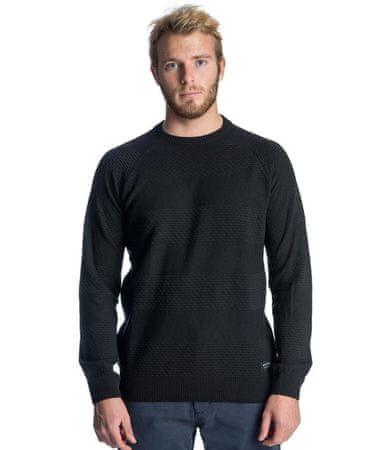 Rip Curl Skipper Crew Sweater férfi pulóver, M, fekete