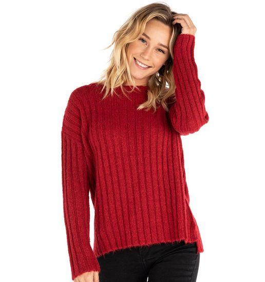 Rip Curl dámský svetr Pana Crew Sweater L červená