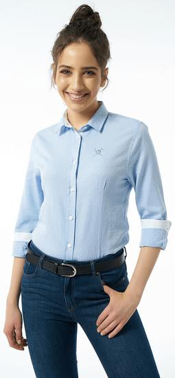 AUDEN CAVILL dámska košeľa AC19S SHW4020_1 XL svetlomodrá