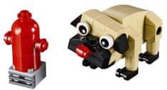 LEGO Creator 30542 Simpatičen mops