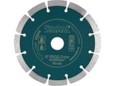 Extol Industrial Kotouč diamantový řezný segmentový Grab Cut, 125x22,2mm, suché řezání
