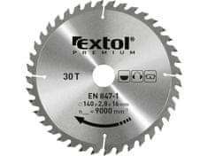Extol Premium Kotúč pílový s SK plátkami, 350x2,5x30mm, 54z