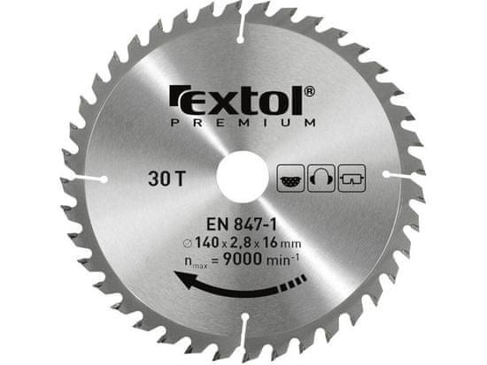 Extol Premium Kotúč pílový s SK plátkami, 184x2,2x30mm, 50z