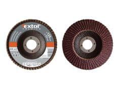 Extol Premium Kotouč lamelový šikmý korundový, P80, 150mm, KORUND