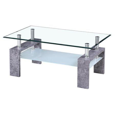 Klubska miza Into, cement