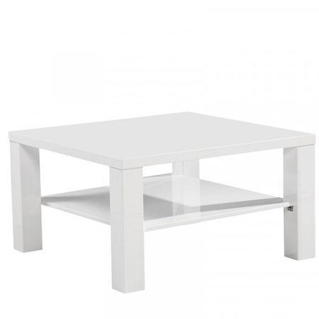 Klubska miza Idi, bela