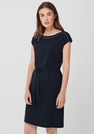 s.Oliver dámské šaty 14.907.82.3245 34 tmavě modrá