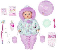 BABY born Soft Touch panenka Speciální zimní edice, 43 cm