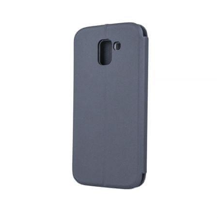 Onasi Glamur torbica za Samsung Galaxy J4 Plus 2018 J415, preklopna, siva
