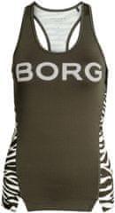 Björn Borg ženska športna majica brez rokavov Blocked Tank Coco 1P (1931-1179)