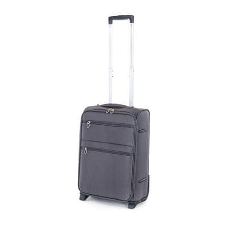 Pretty up TEX15 potovalni kovček, S, siv