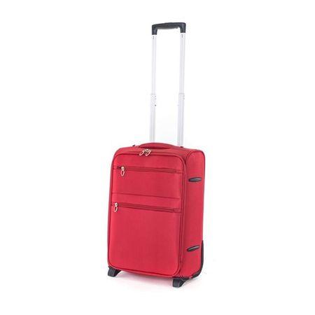 Pretty up Cestovný kufor TEX15, S, červený