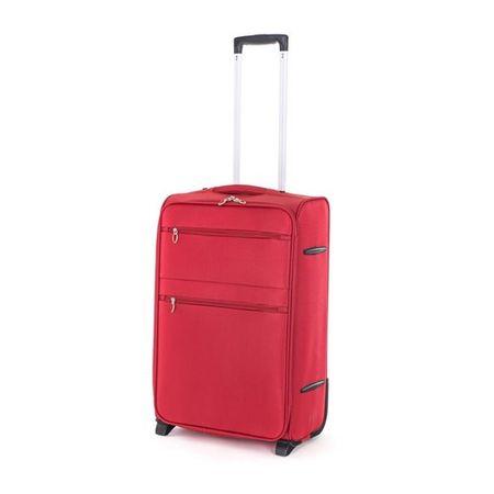 Pretty up Cestovný kufor TEX15, M, červený