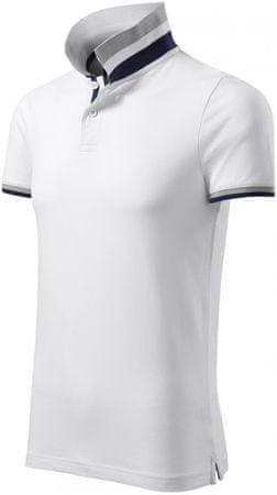 Malfini Premium Bílá pánská polokošile s límcem nahoru