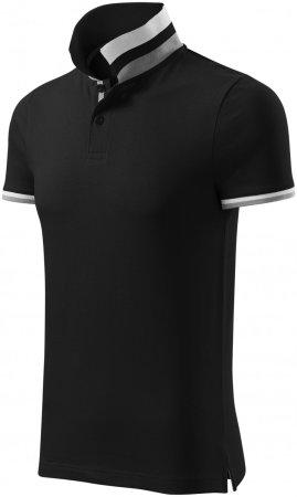 Malfini Premium Černá pánská polokošile s límcem nahoru