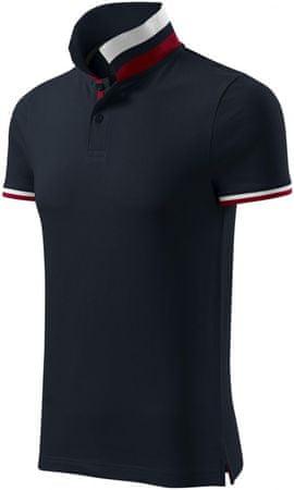 Malfini Premium Dark navy pánská polokošile s límcem nahoru