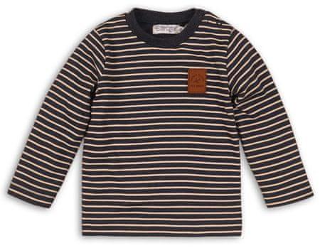 Dirkje chlapčenské prúžkované tričko 86 viacfarebné
