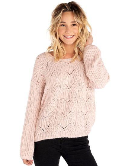 Rip Curl dámský svetr Lounis Crew Sweater M světle růžová