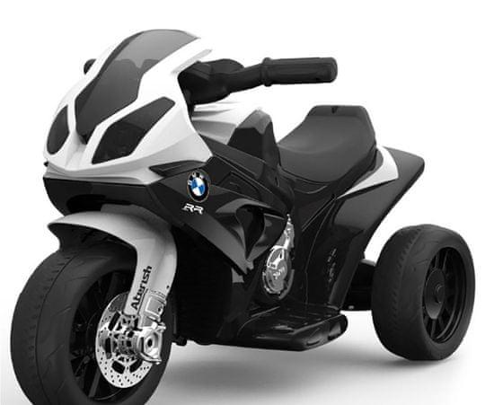 Beneo Elektrická tříkolka BMW S 1000 RR, Licencované, 6 V, kožené sedadlo, 1 motor