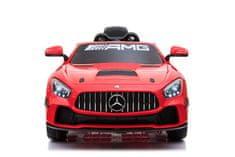 Beneo Elektrické autíčko Mercedes-Benz GT4, 12V, 2,4 GHz dialkové ovládanie, odpruženie, otváravé dvere