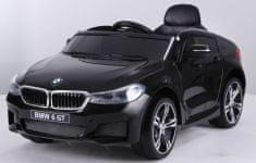 Beneo Elektrické autíčko BMW 6GT - jednomístné, černé, Baterie 2 x 6V / 4Ah, 2,4 GHz DO, 2XMOTOR, USB