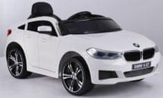 Beneo Elektrické autíčko BMW 6GT - jednomístné, Bílé, Baterie 2 x 6V / 4Ah, 2,4 GHz DO, 2XMOTOR, USB