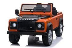 Beneo Elektromos kisautó gyerekeknek Land Rover Defender, 4x4 kerék meghajtás, 2x 12V7AH, EVA kerekek