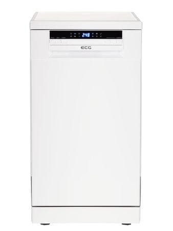 ECG EDF 4516 QA+ Szabadonálló mosogatógép