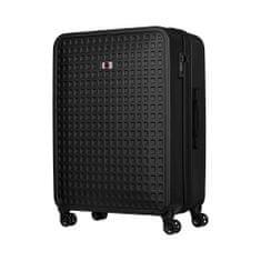 """Wenger MATRIX 28"""" utazó bőrönd, fekete"""