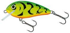 Salmo Wobler Butcher Floating Green Tiger 5 cm 5 g