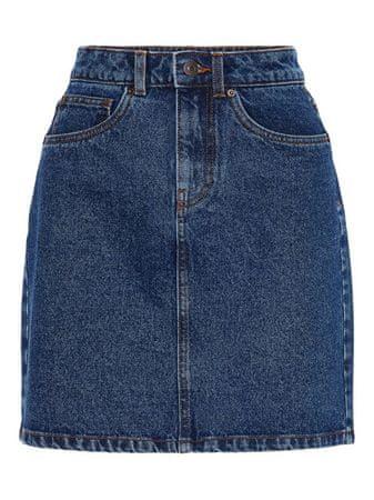Vero Moda Női szoknya Kathy Hr Short Denim szoknya Mix Medium Blue Denim (méret M)