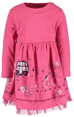 Blue Seven dievčenské šaty 80 ružová