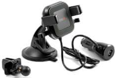 Technaxx Bezdrôtová nabíjačka do auta s držiakom na smartphone, 10 W, TE17 4780