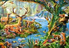 Castorland Forest life 500 dielikov