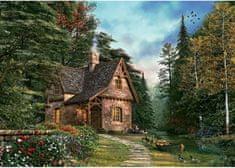 Art puzzle Puzzle Lesní chalupa 1500 dílků