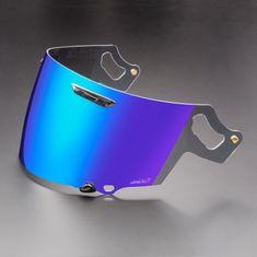 Arai plexi 3D VAS-V zrkadlová modrá