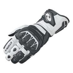 Held sportovní dámské motocyklové rukavice EVO-THRUX 2 černá/bílá, kůže