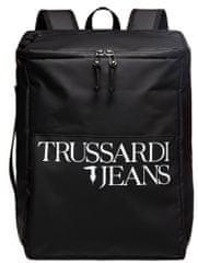 Trussardi Jeans 71B00157-9Y099999 uniseks nahrbtnik, črn