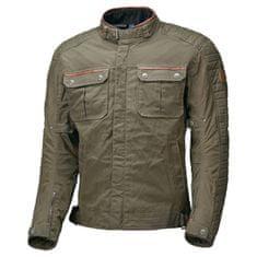 Held pánská moto bunda BAILEY khaki, voskovaná bavlna (voděodolná)