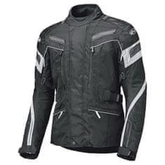 Held dámska moto bunda LUPO čierna/biela, vodeodolná membrána