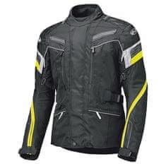 Held dámska moto bunda LUPO čierna/fluo žltá, vodeodolná membrána