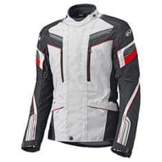 Held dámska moto bunda LUPO šedá/čierna/červená, vodeodolná membrána