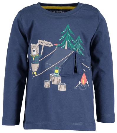 Blue Seven chlapčenské tričko Camp 68 tmavomodrá